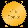 #1 in Osaka