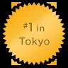#1 in Tokyo