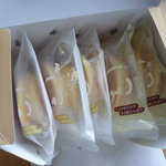 チーズが2個とミルクが3個☆