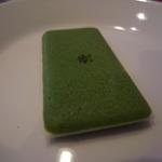 茶の菓 (お濃茶ラングドシャ)