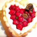 木苺レアチーズケーキ