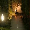 暗闇坂 宮下 - 外観写真:幻想的で優雅な雰囲気を醸し出すエントランス