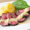 小樽食堂 - 料理写真:ローストビーフステーキ4485
