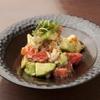 エンガワ - 料理写真:かに・アボカド・トマトのごろごろ和え