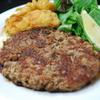 沖縄鉄板バル ミートチョッパー - 料理写真:肉汁溢れる直挽きハンバーグ ≪1g=5円≫