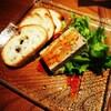 佐五右衛門 - 料理写真:濃厚鶏レバーのテリーヌ ☆350円☆ バケット添え
