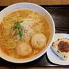 麺屋海神 - 料理写真:辛塩らぁめんへしこ焼きおにぎり付き