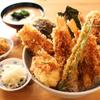 天吉屋 - 料理写真:豪快な天吉丼!