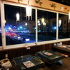 キンカーオ - 内観写真:鴨川の夜景を眺めながらタイ・ラオスのホットな料理をお楽しみ下さい!