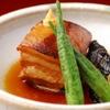 地雷也 - 料理写真:季節の煮物(もち豚の角煮)時期によって変わります。