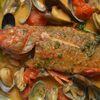 ジョージ - 料理写真:直送鮮魚のアクアパッツァ