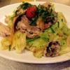 キッチンブイ - 料理写真:いわしとキャベツのソテー