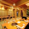 翔山亭  - 内観写真:最大30名様用個室もご用意できます。