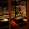 HONANA - 内観写真:お座敷、リゾートガーデン風の庭の見える開放的な座敷です。大人数の宴会に最適です。