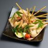 たんと - 料理写真:鶏肉を豪快に藁焼きにした名物「とんど焼き」