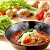 元祖トマトラーメンと辛めん 三味 - 料理写真: