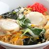 センカエン - 料理写真:大ぶりの帆立が食べ応えあり『広田湾のほたて丼(卵とじ)』