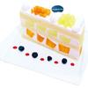 フォーシーズンズカフェ - 料理写真:5月限定 エメラルドメロンと赤肉メロンのプレミアムジャンボショートケーキ