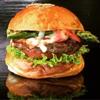 バーガーショップホットボックス - 料理写真:グリルドアスパラベーコンチーズバーガー