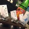 炉端のぬる燗 佐藤 - ドリンク写真:約70種あるお酒から3種の飲み比べはおまかせもお好きな3種もOk