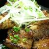 三ツ石ファーム - 料理写真:岩中豚のガーリック焼!