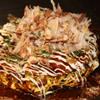 ぼちぼち - 料理写真:キャベツたっぷりのふわふわのお好み焼き