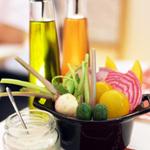 絶品サラダやバーニャカウダなど、ヘルシーな野菜を食べよう!