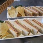 3月13日はサンドイッチの日 『エキゾチックな街 横浜』のサンドイッチ