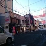 郡山市の昭和の香りがする素敵なお店が集中する、日の出通りのお店さんたち。