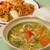 エベレスト - 料理写真:ネパール風 五目やきそば・ミックスヌードル各840円