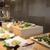 武藏 - 料理写真:旬菜を目の前でさっくり揚げる天麩羅も大人気♪お好きなタレや薬味でお召し上がりください。