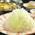 ぶあいそ - 料理写真:「博多葱しゃぶ【黒豚】」北海道産黒豚とたっぷりの葱を、アゴ(トビウオ)で取ったお出汁で♪