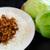 神戸元町別館牡丹園 - 料理写真:テラス包み (豚ミンチと筍の自家製オイスターソース炒め)