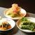 ばりすた - 料理写真:キュウリ三種類