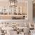 アニヴェルセルカフェ - 内観写真:白を基調とした店内は一面ガラス張りになっており、解放感が抜群。