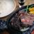 ザ・ミートショップ - 料理写真:<ランチ>国産リブアイロール(リブロース) 1,200円 一番人気★柔らかくジューシーなステーキ
