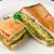 珈琲舎 - 料理写真:サーモンとアボカドサンド