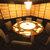 山暖 - 内観写真:ちょっと変わった円卓のお部屋