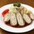 サラダの店サンチョ - 料理写真:鶏肉にしそとチーズを巻き込んで揚げています、女性に人気メニュー