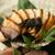 美食 米門 - 料理写真: 鮑を濃厚な肝ソースでどうぞ