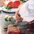 鉄板焼 よこはま - 料理写真:黒毛和牛を使ったステーキ