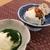 やずや 皆友亭 - 料理写真:ひと口食べて驚きのコラボレーションアイス