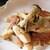 鉄人の店 - 料理写真:エリンギのペペロンチーノ 鉄人の店オリジナルの一番人気メニュー♪お酒のお伴に最高です。