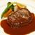 リューバンカフェ - 料理写真:国産牛100%ハンバーグステーキ