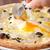 俺のイタリアン - 料理写真:トリュフとポルチーニのビスマルクピッツァ