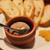 魚猫 - 料理写真:鶏レバーペーストバケット添え