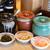 ラーメン 龍の家 - 料理写真:お席には、「辛子高菜」「辛もやし」 「ピンク生姜」を常備しております。