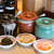 ラーメン龍の家 - 料理写真:お席には、「辛子高菜」「辛もやし」「ピンク生姜」を常備しております。