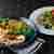 347 cafe - 料理写真:スパイシーチキン&ベイクドなすと白いんげん豆のサラダ