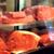 焼肉チャンピオン - 料理写真:寿司屋のようにネタケースに並べられた希少部位の数々。オーダーを受けてから手切りをし、お客様のもとへ。